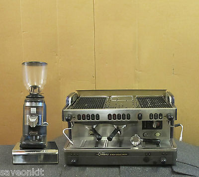 LA Cimbali M29 DT/2 Selectron Automatic Bean To Cup Coffee Machine CompakGrinder