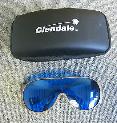 Laser Safety Glasses D 632-695 L4 / IR 632-695 L5 YL S CE 96