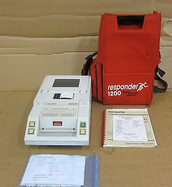 Marquette Series Responder 1200 - Medical - Surgery Equipment