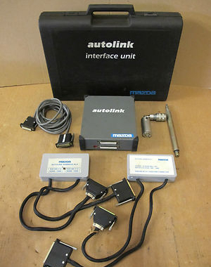 Mazda Autolink Interface Unit For Diagnostic System Vehicle ECU Fault Reader