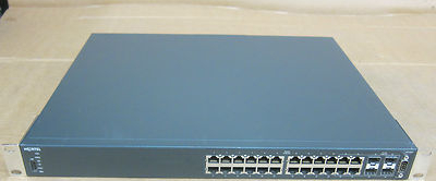 Nortel 4524GT - Rack Mount 24 Port Fast Ethernet IP Routing Switch AL4500A05-E6