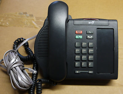 Nortel M3901 Charcoal Telephone Phone Meridian Option NTNG31EA70