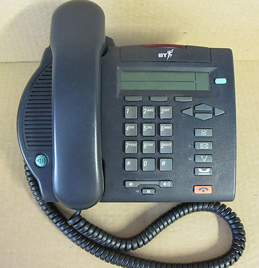 Nortel M3902 Charcoal Telephone Phone Meridian Option
