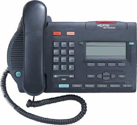 Nortel M3903 Charcoal Telephone Phone Meridian Option