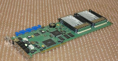 Nortel Networks BCM 400 MSC-16 Card NT5B15AH With 2x Media Services Expansion
