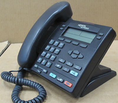 Nortel Networks IP Phone i2002 desktop Telephone NTDU91 - Black NTU91AA70
