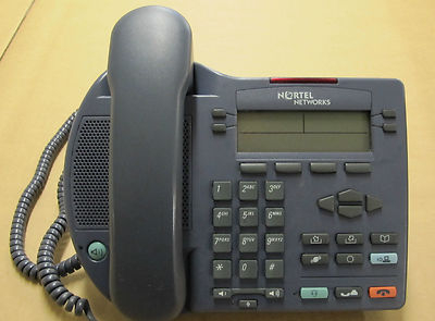 Nortel Networks IP Phone i2002 desktop Telephone NTDU91 - Blue