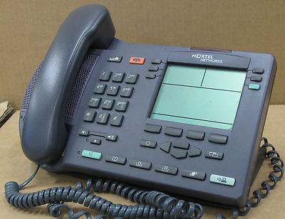 Nortel Networks IP Phone i2004 desktop Telephone NTDU82 - Black NTU82BA