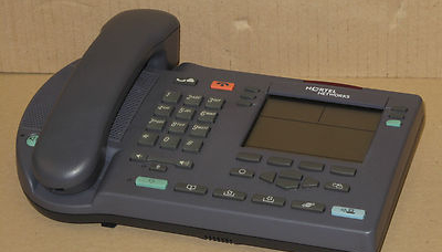 Nortel Networks IP Phone i2004w Desktop Telephone NTEX00 VoIP Blue