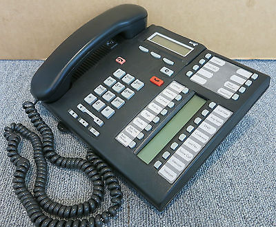 Nortel  T76316E LCD Display 24-Button Telephone Office Equipment, NT8B27JANEE6