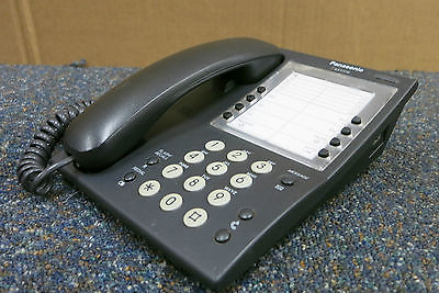 Panasonic KX-T7710E-B Black Advanced Hybrid Telephone phone LCD KX-T7710E-B