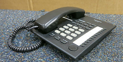 Panasonic KX-T7720E-B Black Advanced Hybrid Telephone phone LCD KX-T7720E-B