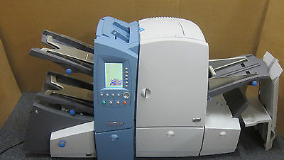 Pitney Bowes DI600 FastPac OMR Collating Folding Inserting Sealing Postal System
