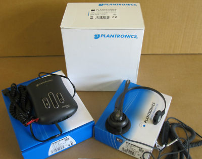 Plantronics D251N Headset and VistaPlus DM15 Amplifier