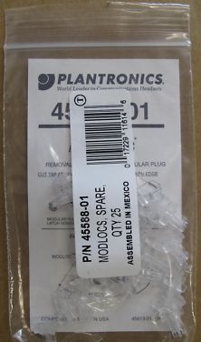 Plantronics Telephone Modlocs Pack Of 25 45588-01 x20