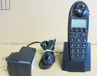 Polycom Kirk 4020 DECT Cordless Handset and Desk Stand Charger 8464 2419