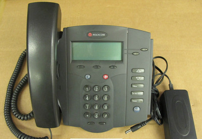 Polycom SoundPoint IP 300 IP300 SIP VoIP Voice over IP  Phone 2201-11300-001