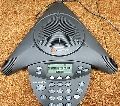 Polycom SoundStation 2W 1.9GHz DECT Conference Speaker Phone 2201-67880-101