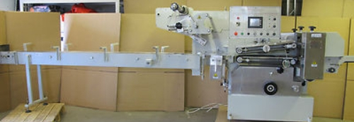 Qingdao Nissin Food Corporation QNF 450 Automatic Food wrap wrapping machine