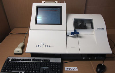 Radiometer ABL 700 Copenhagen Blood Gas Analyzer ABL700