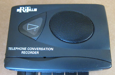 Re-tell telephone conversation recorder model no. 701149 with counter