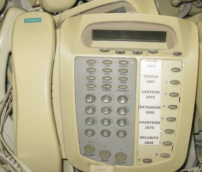 Siemens DT60 DT 60 Realitis System Telephone Phone
