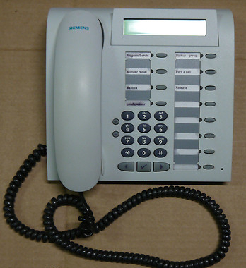 Siemens Optipoint 400 Standard Telephone L28155-H5200-A130 Light Grey