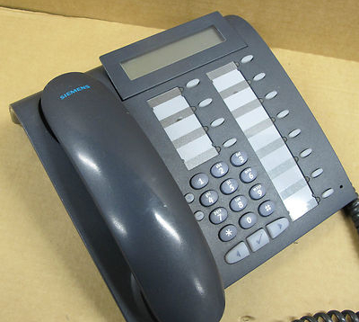 Siemens Optipoint 500 Economy Telephone S30817-S7108-A107-11 Manganese