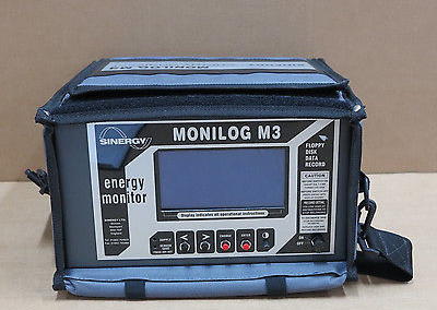 Sinergy Monilog M3 Energy Monitor Analyser Recorder