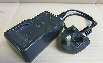 Sony Battery Charger and Mains Power Cable - Model No. BC-V615