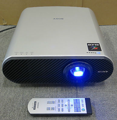 Sony Cineza VPL-HS60 3 LCD HDMI 1080i Projector with Remote Control