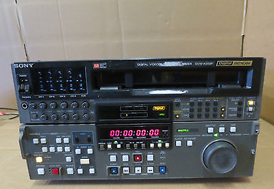 Sony Dvw-a500p Digital Betacam Digital Videocassette Recorder At Any Cost Other Dj Equipment Dj Equipment
