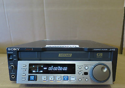 Sony J-H3 HDCAM Digital Video Cassette Player Analog HD SD Tape Playback JH3