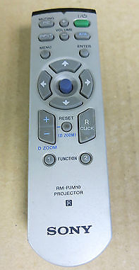 Sony RM-PJM10 Projector Remote Control with Zoom