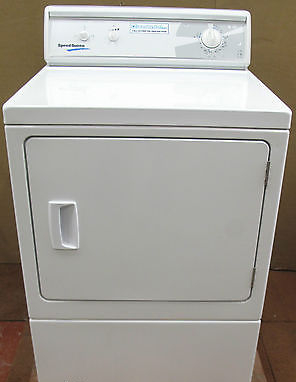 Speed Queen LGS27AW 10Kg Load Heavy Duty Commerical Tumble Dryer~White