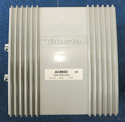Teleste AC8000 Fibre Optic Dual Output Node 65VAC 44W IP54, TV Reception