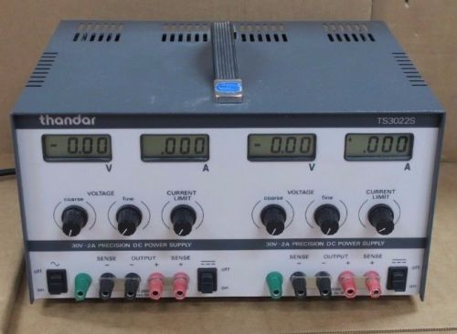 Thurlby Thandar Instruments TS3022S Dual Output Precision Power Supply, 30V - 2A