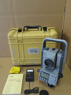 "Topcon Gowin TKS-202 2"" Total Station Electronic Construction Survey Tool"
