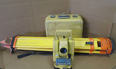 "Topcon GTS-213 7"" Total Station Electronic Survey Surveying GTS-210 series"