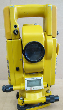"Topcon GTS-3B 5"" total station theodolite survey surveying equipment GTS 3B10"