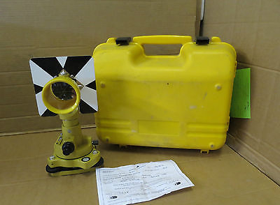 Topcon Single Reflector 64mm Prism Target Station SPS11 In Case Site Survey Tool