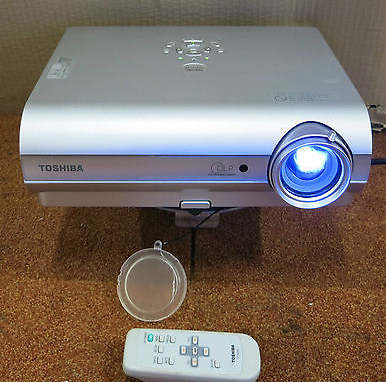 Toshiba TLP-S35 DLP Display Projector, 2000 ANSI Lumens, 2000:1 Contrast