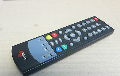 Triax Genuine Original Satellite TV AV STB Top Box Remote Control Replacement