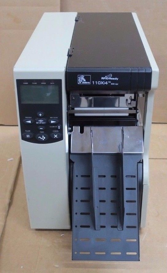 Zebra 110Xi4 24 dot/mm 600 dpi RFID Ready Thermal Label Printer 116-80E-00104