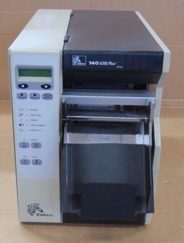 Zebra 140XiIIIPlus 203dpi Industrial Thermal Barcode Label Printer 140-70E-00103