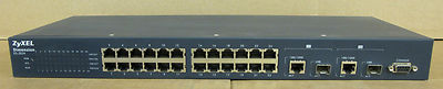 ZyXEL Dimension ES-2024 Switch 24 Ports Managed Layer 2 Fast Ethernet